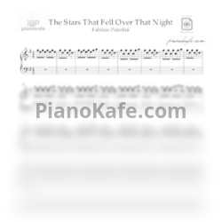 Ноты Fabrizio Paterlini - The stars that fell over that night - PianoKafe.com