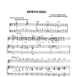 Ноты Frank Sinatra - Bewitched - PianoKafe.com