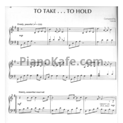 Ноты Yanni - To take... To hold - PianoKafe.com