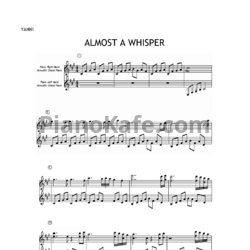 Ноты Yanni - Almost a whisper - PianoKafe.com