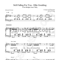 Ноты Ellie Goulding - Still falling for you - PianoKafe.com
