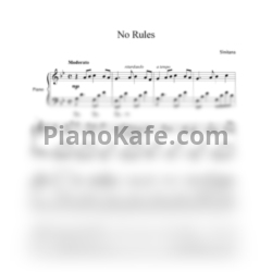 Ноты Sinitana - No rules - PianoKafe.com