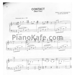 Ноты Alan Silverstri - Contact (Main title) - PianoKafe.com