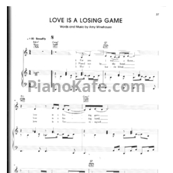 love is a losing game sheet pdf