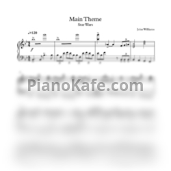 "Ноты John Williams - ""Star wars"" Main theme - PianoKafe.com"