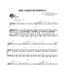 Ноты 5 Seconds of Summer - She Looks So Perfect - PianoKafe.com