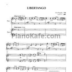 Astor Piazzolla - Libertango (для 2 фортепиано)