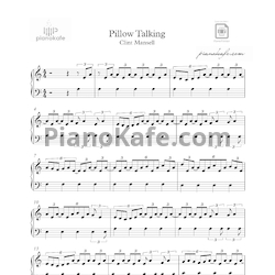 Ноты Clint Mansell  - Pillow talking - PianoKafe.com
