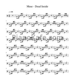 Ноты Muse - Dead inside - PianoKafe.com