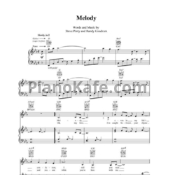 Ноты Steve Perry - Melody - PianoKafe.com