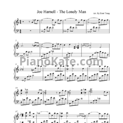 Ноты Joe Harnell - The lonely man - PianoKafe.com