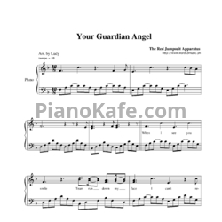 Ноты The Red Jumpsuit Apparatus - Your guardian angel - PianoKafe.com