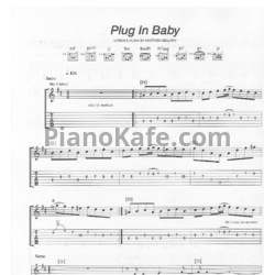 Ноты Muse - Plug in baby - PianoKafe.com