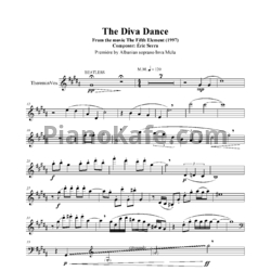 Ноты Eric Serra - The diva dance - PianoKafe.com