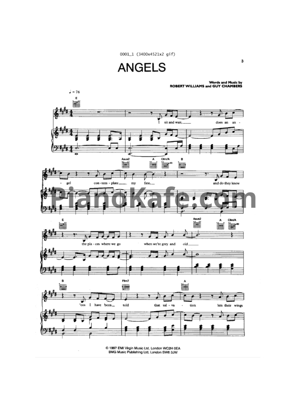 Ноты Александр Филин - Angels - PianoKafe.com