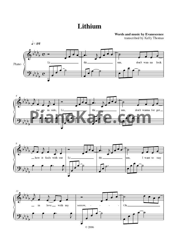 SCARICARE EVANESCENCE MIDI DA