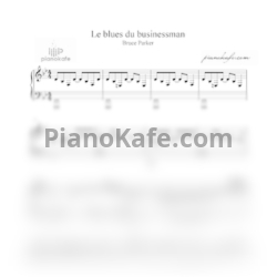 Ноты Claude Dubois - Le blues du businessman - PianoKafe.com