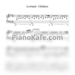 Ноты Lowland - Children - PianoKafe.com