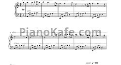 григ в пещере горного короля ноты для фортепиано